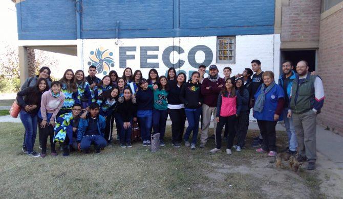 Alumnos del Colegio Don Bosco del departamento San Martín nos visitaron