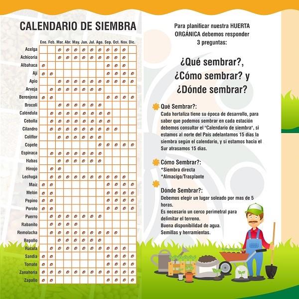 Calendario de Siembra Fecoagro