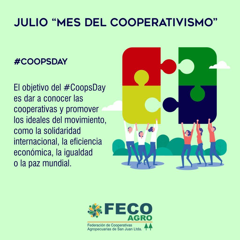 Julio, mes del cooperativismo